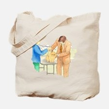 Pom Examined on Table Tote Bag