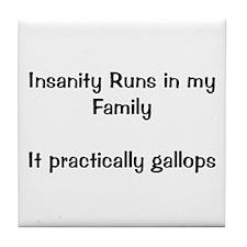 Insanity Tile Coaster