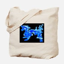 Old Water Dragon Tote Bag