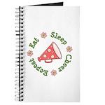 Eat Sleep Cheer Journal