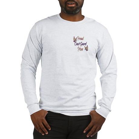 Proud Coast Guard Mom Long Sleeve T-Shirt