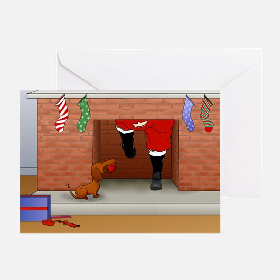 Nothin' Butt A Doxie Greeting Card