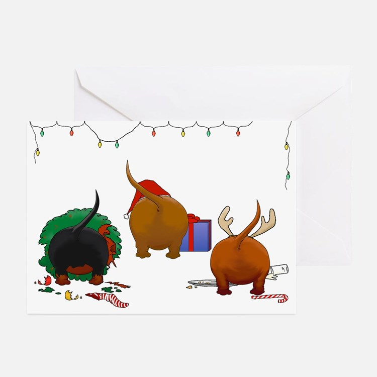 Nothin' Butt A Doxie Greeting Cards (Pk of 20)