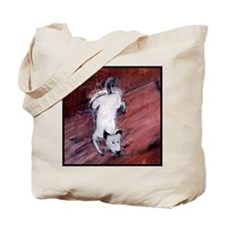 Dog Rug Tote Bag