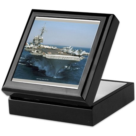 USS Kitty Hawk (CV 63) Keepsake Box