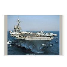 USS Kitty Hawk (CV 63) Postcards (Package of 8)