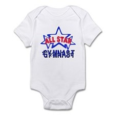 All Star Gymnast Infant Bodysuit