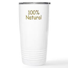 100% Natural Travel Mug