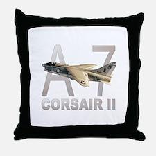 A-7 CORSAIR II Throw Pillow