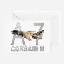 A-7 CORSAIR II Greeting Card