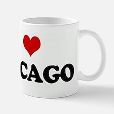I Love CHICAGO Mug