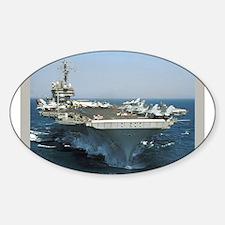 USS Kitty Hawk Oval Decal