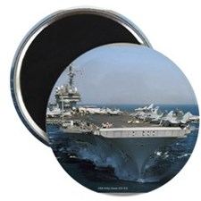 "USS Kitty Hawk 2.25"" Magnet (100 pack)"