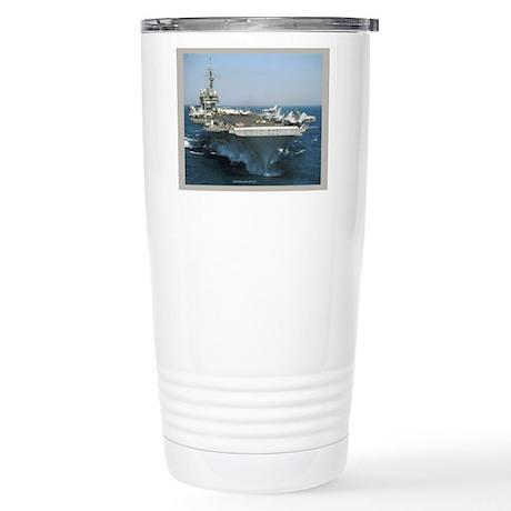 USS Kitty Hawk Stainless Steel Travel Mug