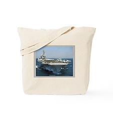 USS Kitty Hawk Tote Bag