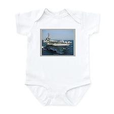USS Kitty Hawk Infant Bodysuit