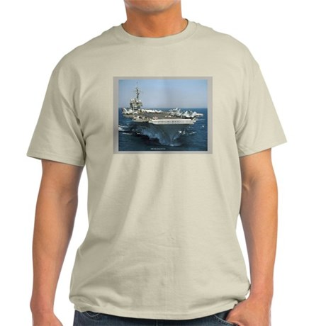 USS Kitty Hawk Light T-Shirt