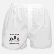 Nothin' Butt A Husky Xmas Boxer Shorts