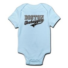 BOSTON TEABAGGERS TEA BAGGERS Infant Bodysuit