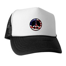 American Peace Trucker Hat
