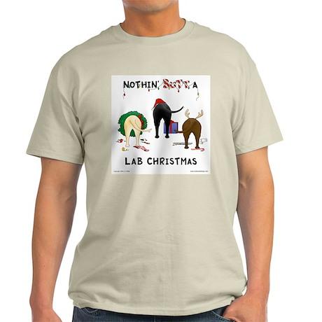 Nothin' Butt A Lab Xmas Light T-Shirt