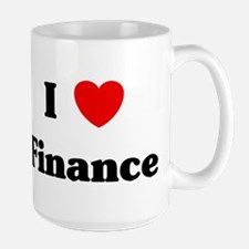 I Love Finance Mugs