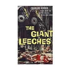 The Giant Leeches Rectangle Decal