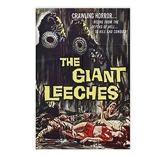 The Giant Leeches Postcards (Package of 8)