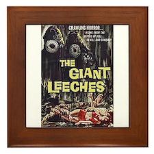 The Giant Leeches Framed Tile
