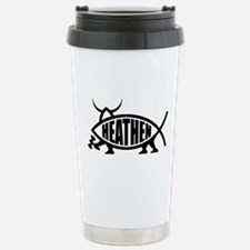 Heathen Fish Travel Mug
