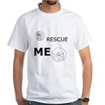 Rescue Me Zephram White T-Shirt