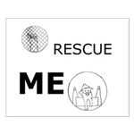 Rescue Me Zephram Small Poster