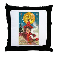 Conjuring Ghosts Throw Pillow