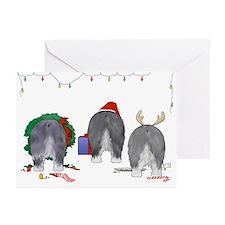Old English Sheepdog Greeting Cards (Pk of 10)