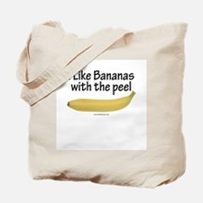 Natural Bananas Tote Bag