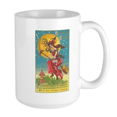 Riding Witches Large Mug