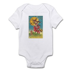 Riding Witches Infant Bodysuit