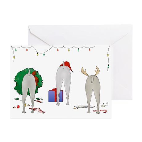Weimaraner Christmas Greeting Cards (Pk of 10)