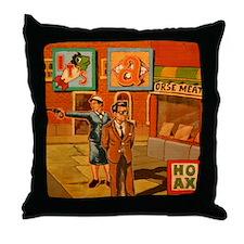 Hoax Throw Pillow