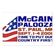 McCain-Palooza Postcards (Package of 8)
