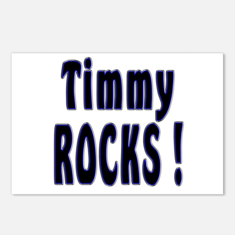 Timmy Rocks ! Postcards (Package of 8)