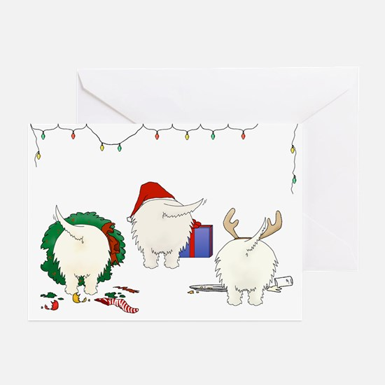 Westie Christmas Greeting Cards (Pk of 10)
