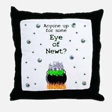 Eye of Newt Throw Pillow