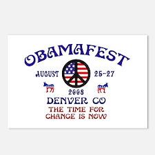 Obamafest Postcards (Package of 8)
