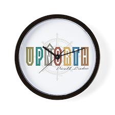 UpNorth Piatt Lake Wall Clock