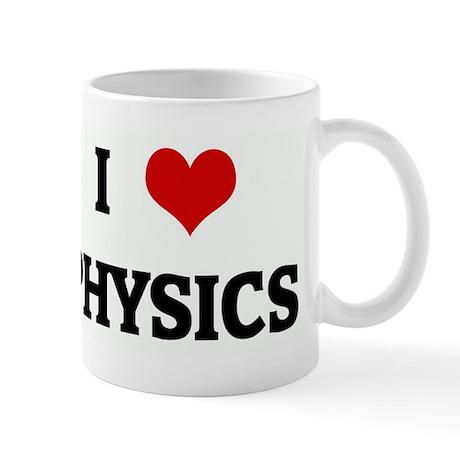 I Love PHYSICS Mug