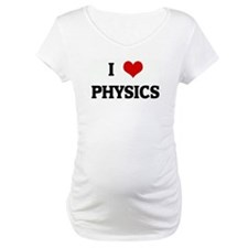 I Love PHYSICS Shirt