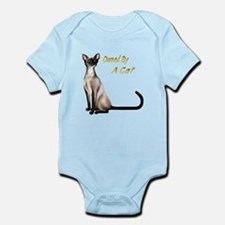 Owned By A Cat Infant Bodysuit