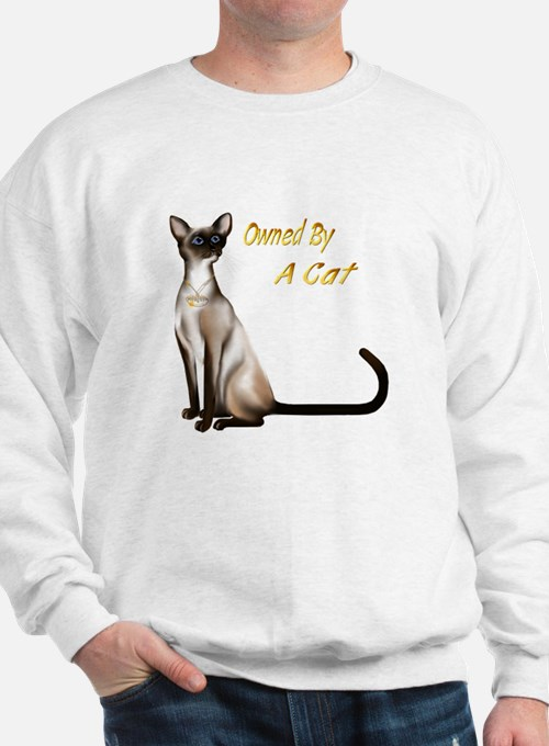 Owned By A Cat Sweatshirt
