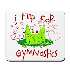 I Flip for Gymnastics Mousepad